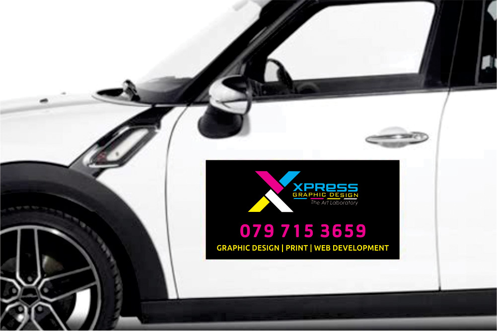 Johannesburg Car Magnetic Sticker Designs & Printing