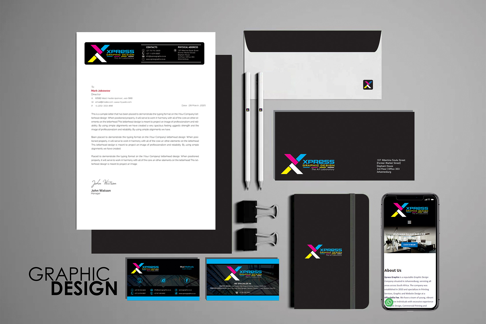 Johannesburg Corporate Identity Package