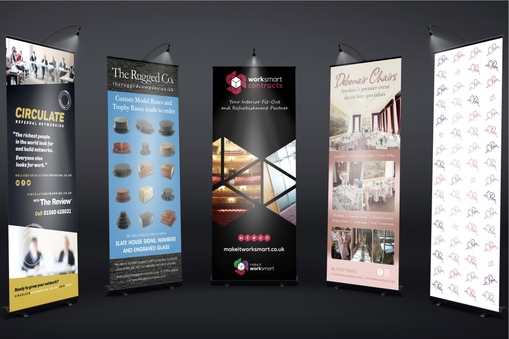 Johannesburg Pull Up Banner Designs & Printing
